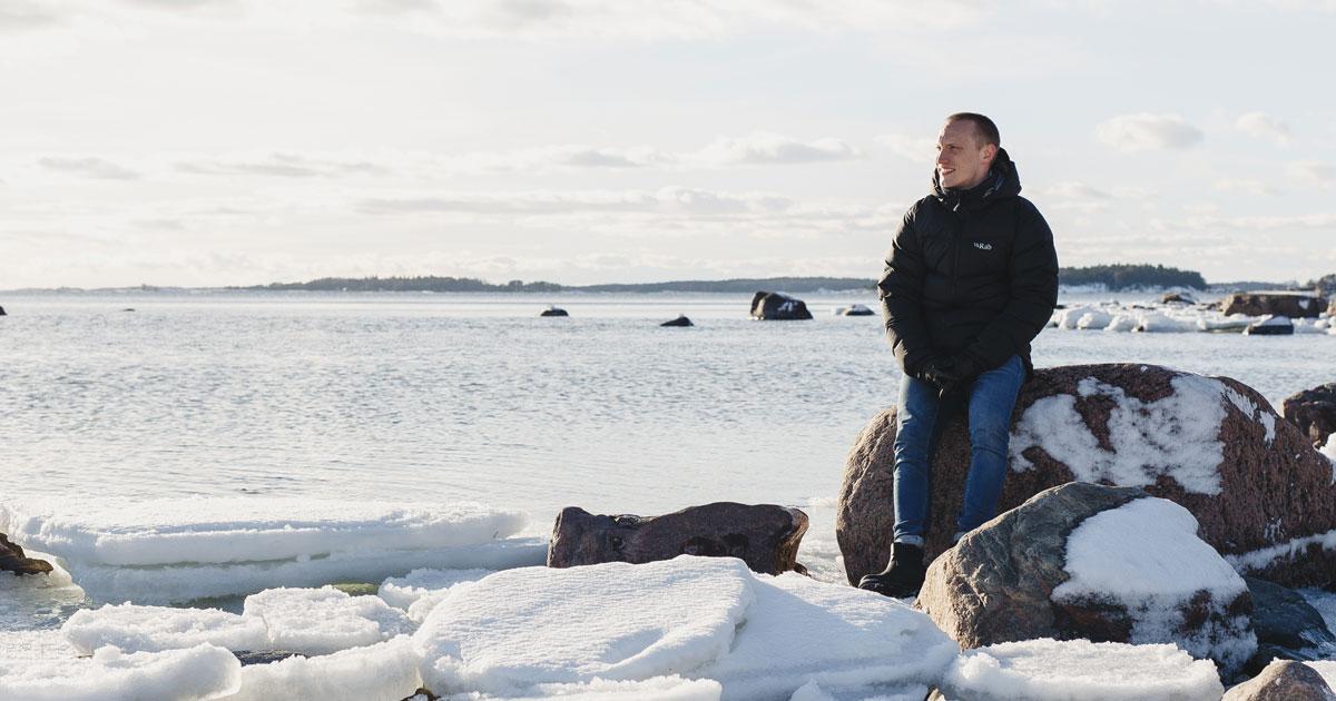 Digimarkkinointi kurssin vetäjä Sampsa Vainio, yrittäjä Helsingin Lauttasaaresta